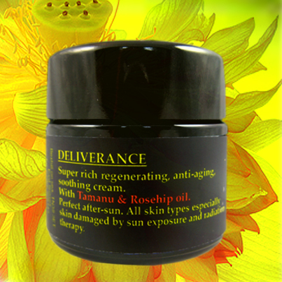DELIVERANCE organic concentrated cream
